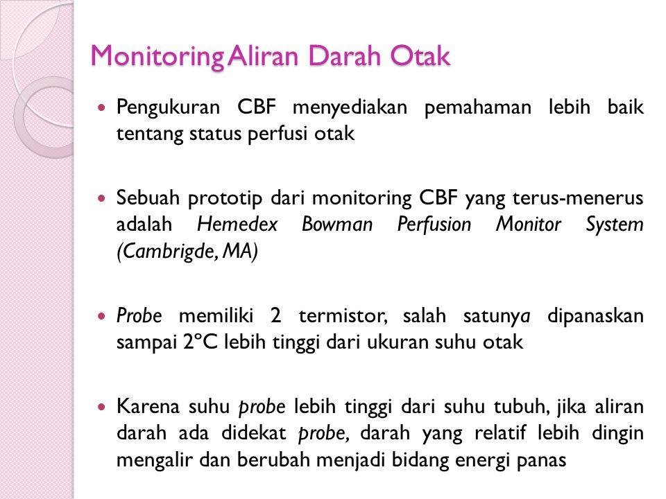 Monitoring Aliran Darah Otak