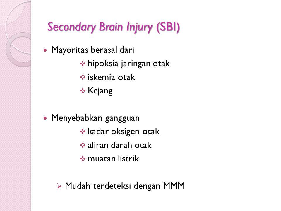Secondary Brain Injury (SBI)