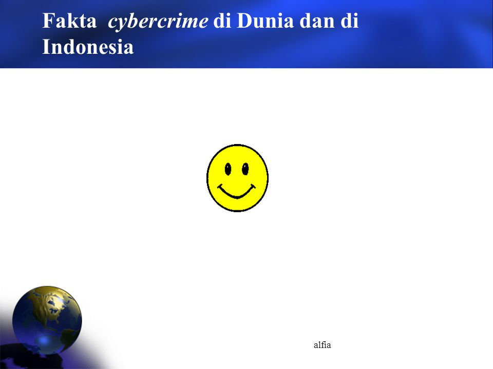 Fakta cybercrime di Dunia dan di Indonesia