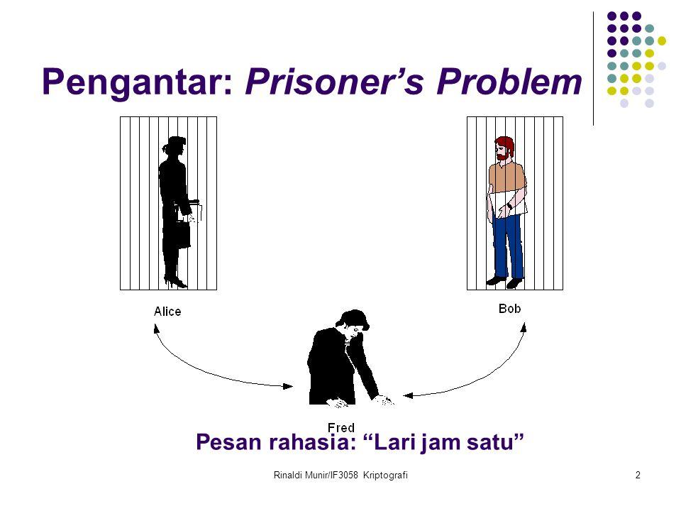 Pengantar: Prisoner's Problem