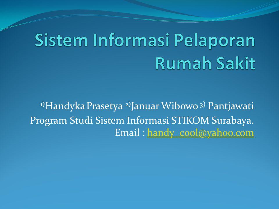 Sistem Informasi Pelaporan Rumah Sakit