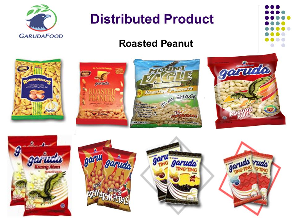 Distributed Product Roasted Peanut