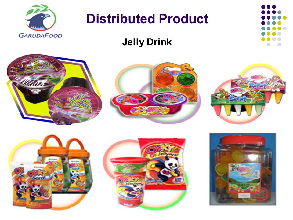 Distributed Product Jelly Drink