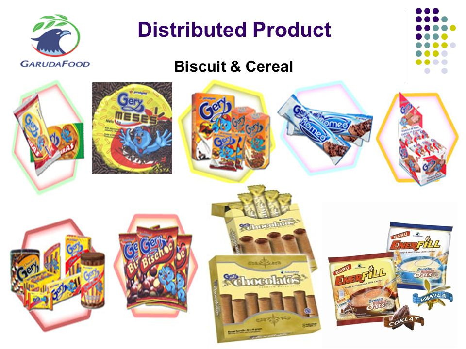 Distributed Product Biscuit & Cereal