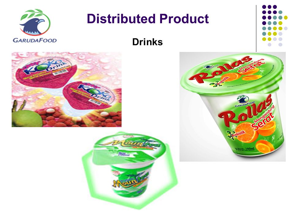 Distributed Product Drinks