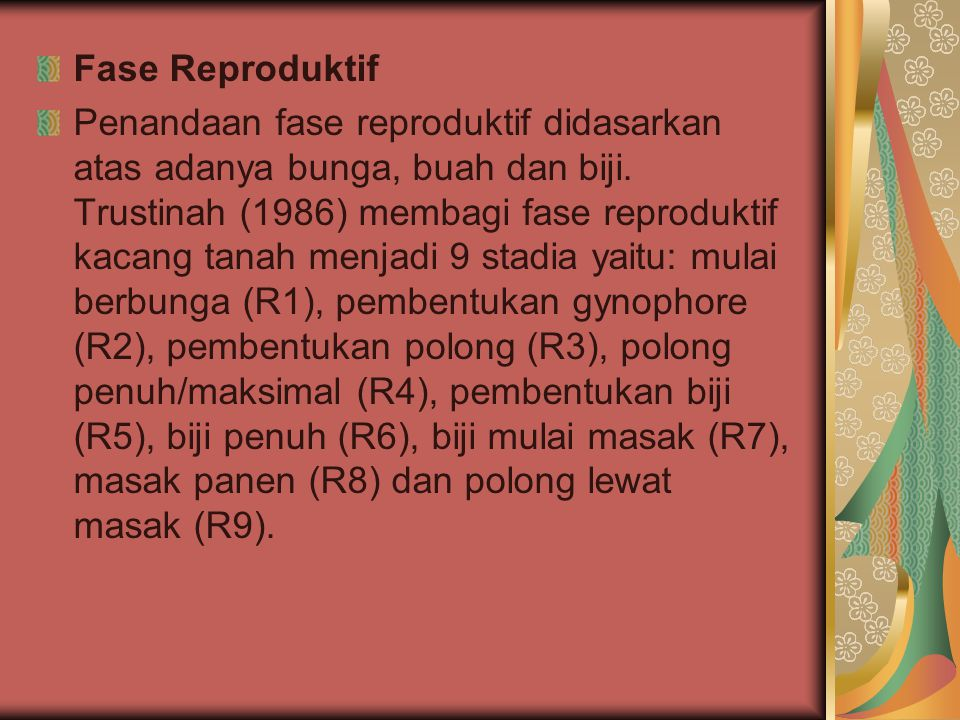 Fase Reproduktif