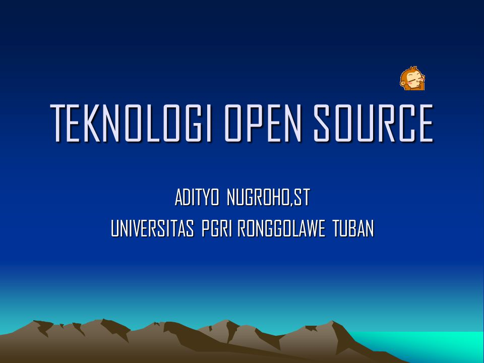 ADITYO NUGROHO,ST UNIVERSITAS PGRI RONGGOLAWE TUBAN