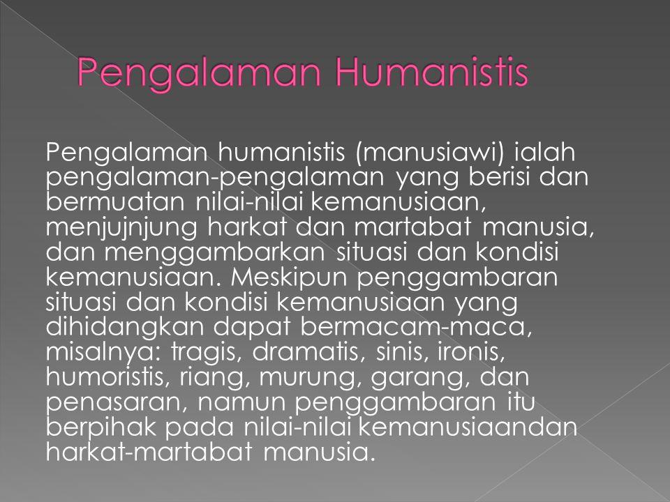Pengalaman Humanistis