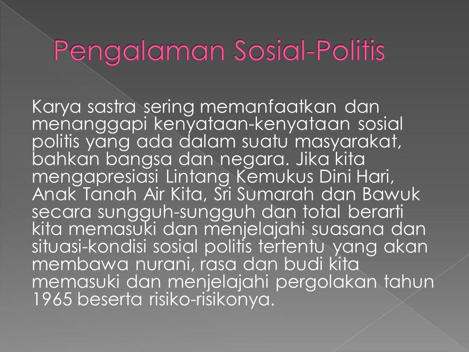 Pengalaman Sosial-Politis