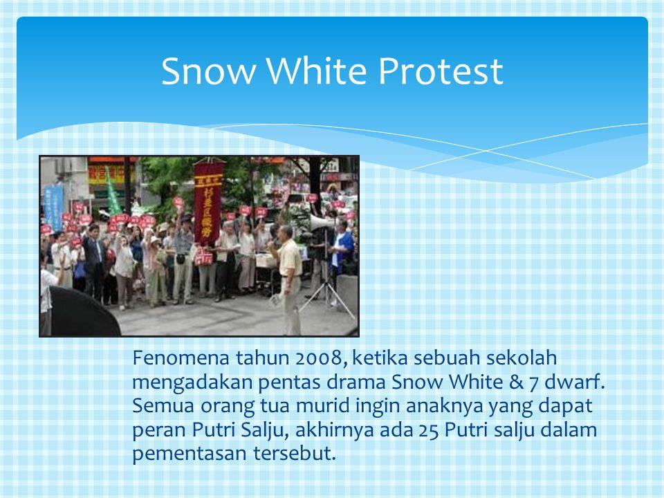 Snow White Protest