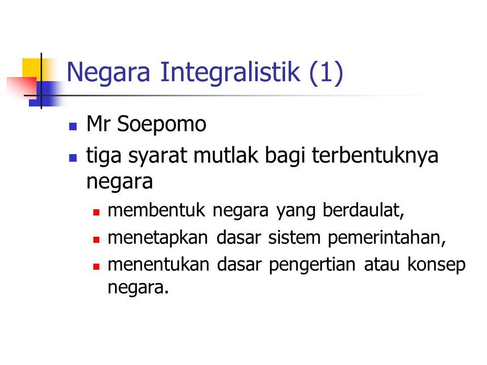 Negara Integralistik (1)