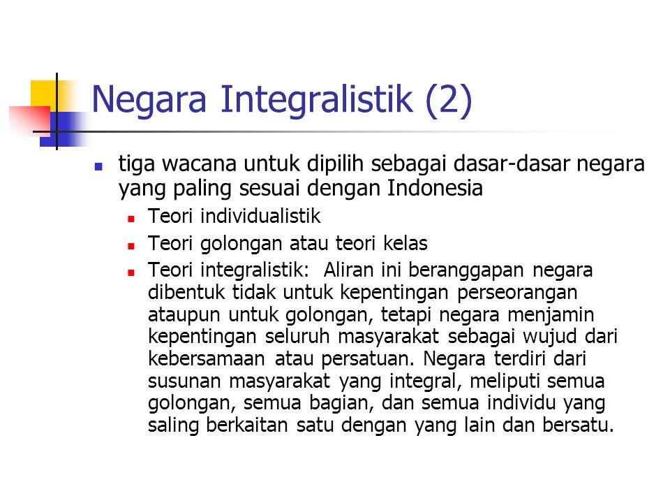 Negara Integralistik (2)