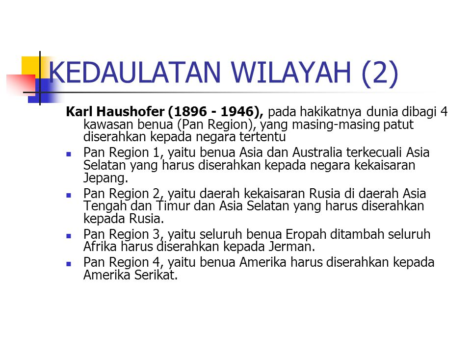 KEDAULATAN WILAYAH (2)