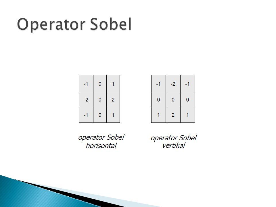 Operator Sobel