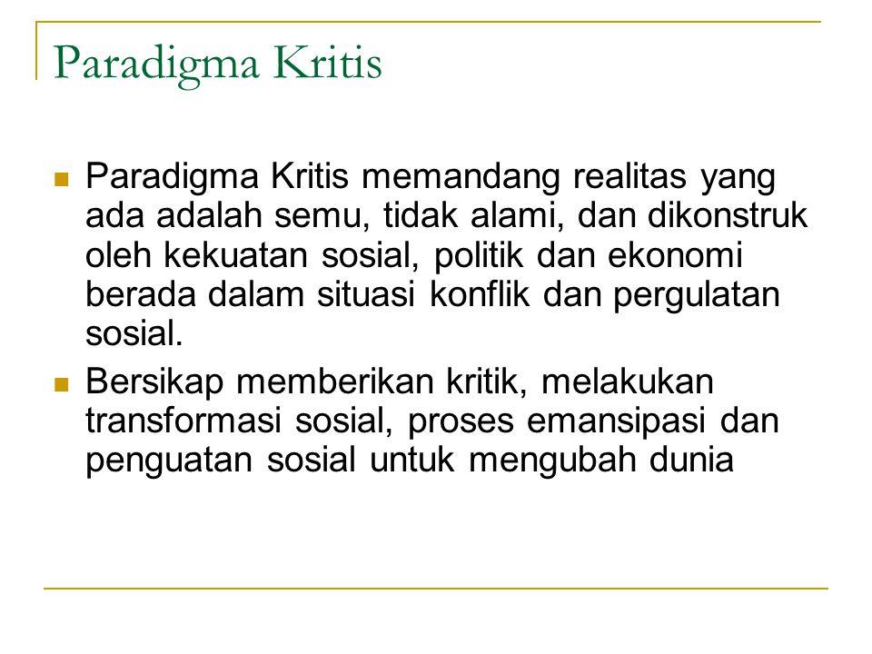 Paradigma Kritis