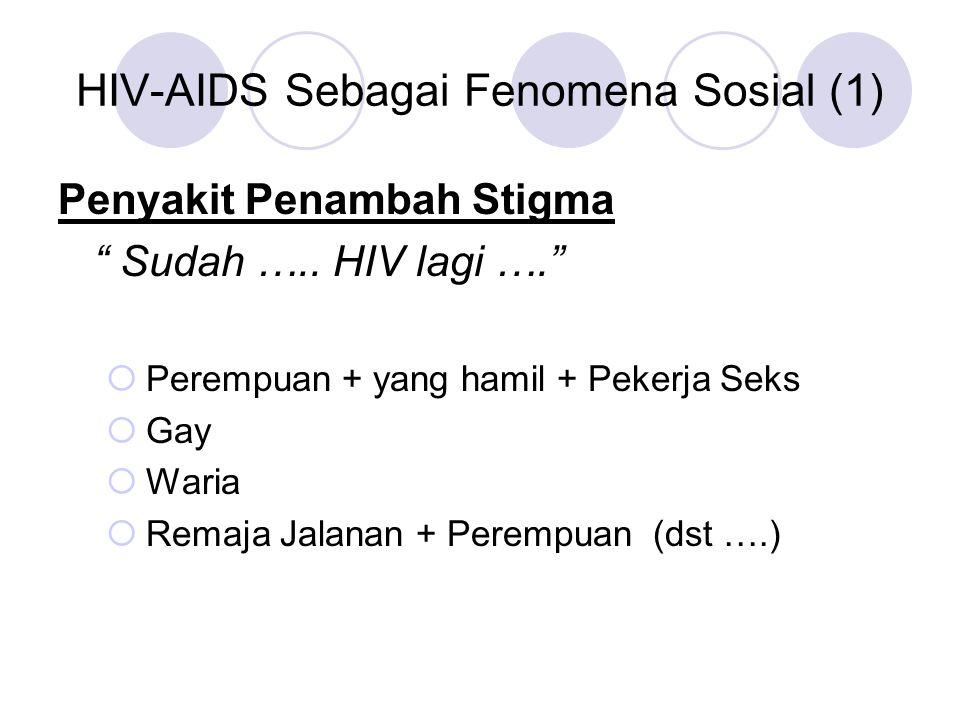 HIV-AIDS Sebagai Fenomena Sosial (1)