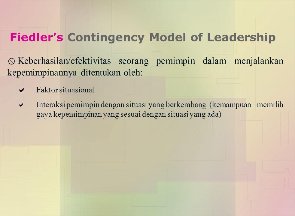 Fiedler's Contingency Model of Leadership