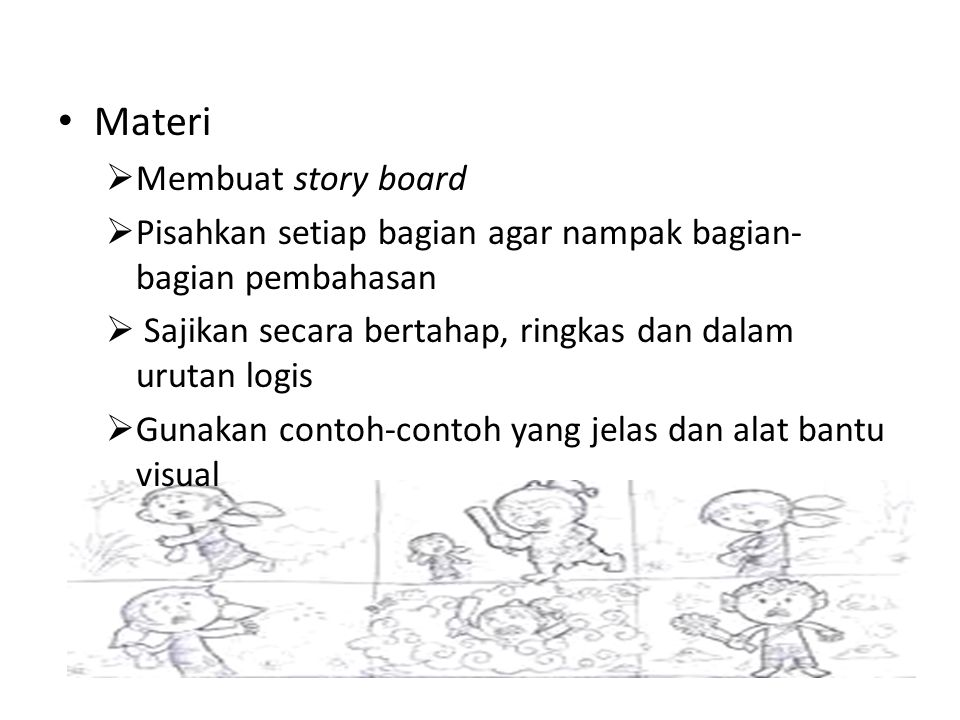 Materi Membuat story board