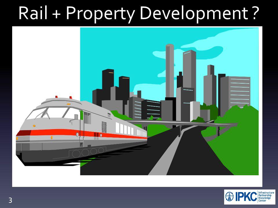 Rail + Property Development