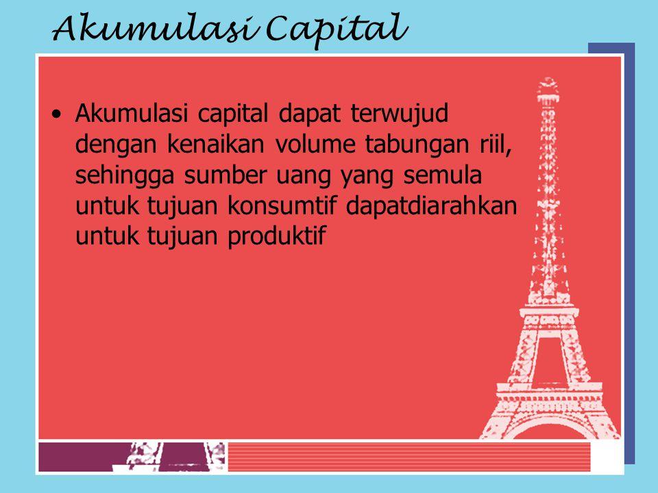 Akumulasi Capital