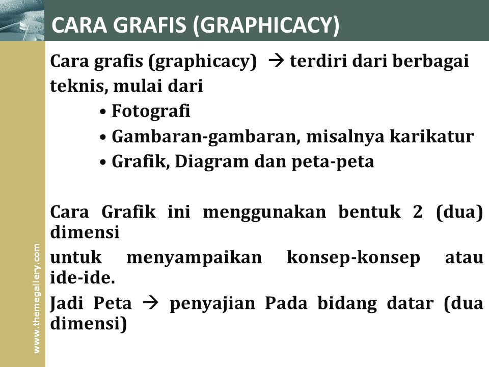 CARA GRAFIS (GRAPHICACY)