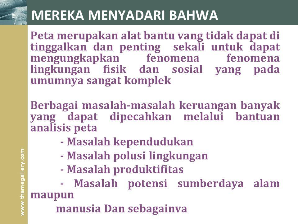 MEREKA MENYADARI BAHWA