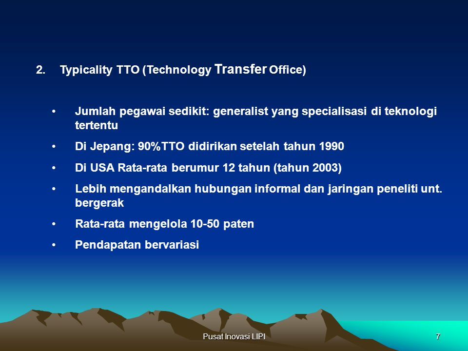 Typicality TTO (Technology Transfer Office)