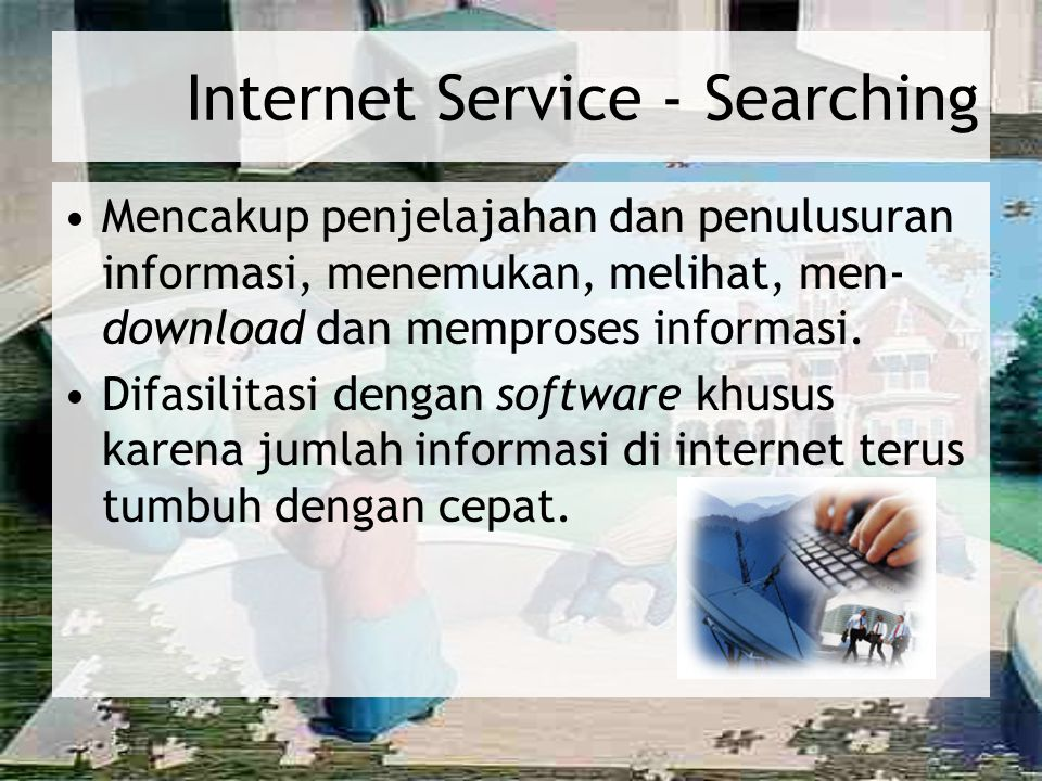 Internet Service - Searching