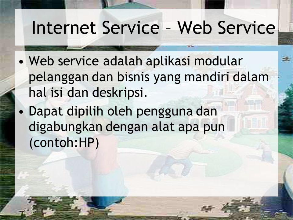 Internet Service – Web Service