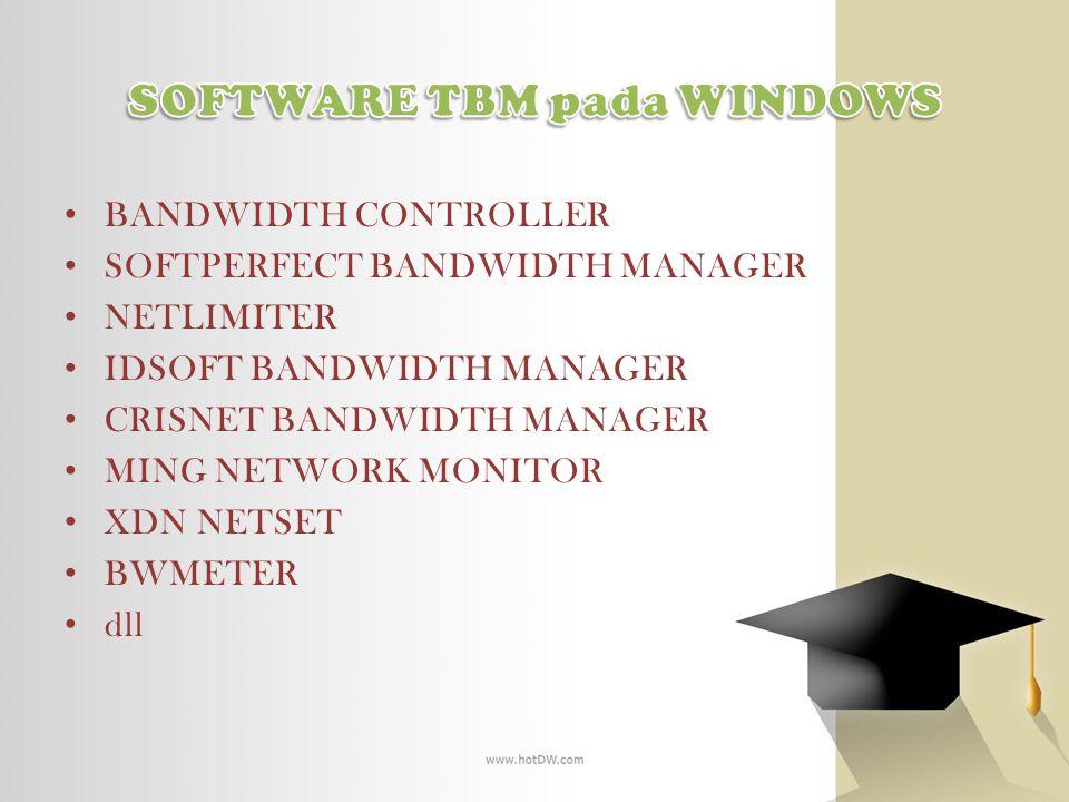 SOFTWARE TBM pada WINDOWS