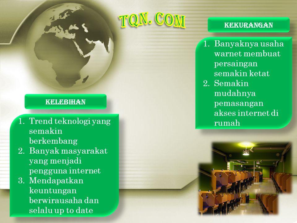 TQN. COM Banyaknya usaha warnet membuat persaingan semakin ketat