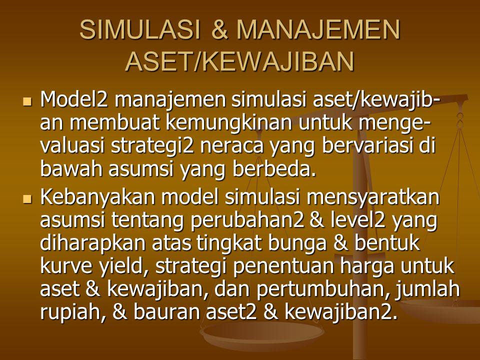 SIMULASI & MANAJEMEN ASET/KEWAJIBAN