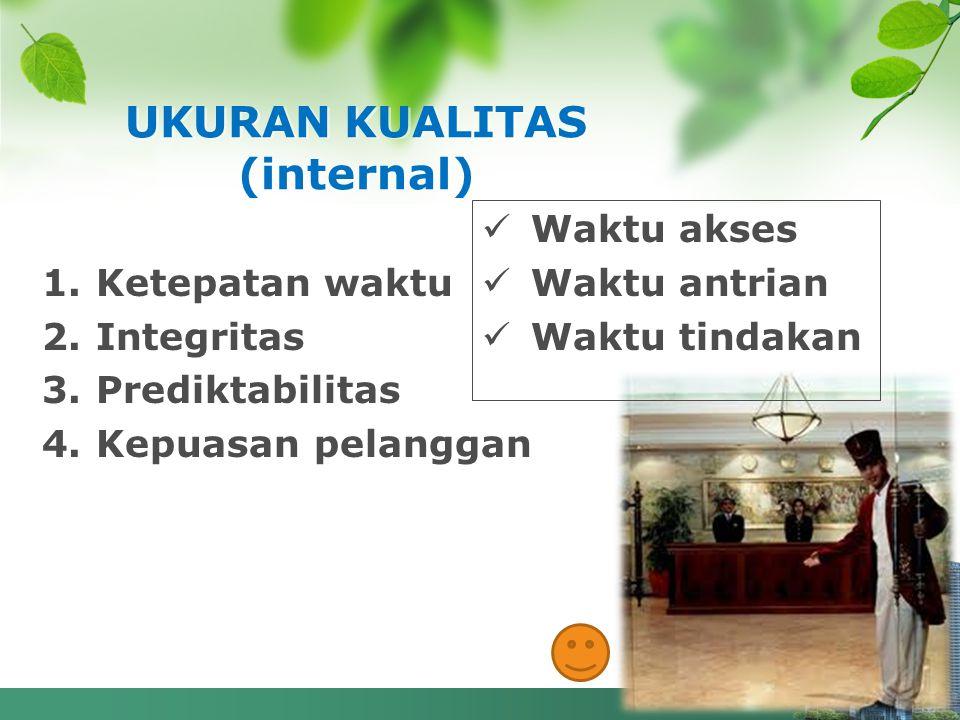 UKURAN KUALITAS (internal)