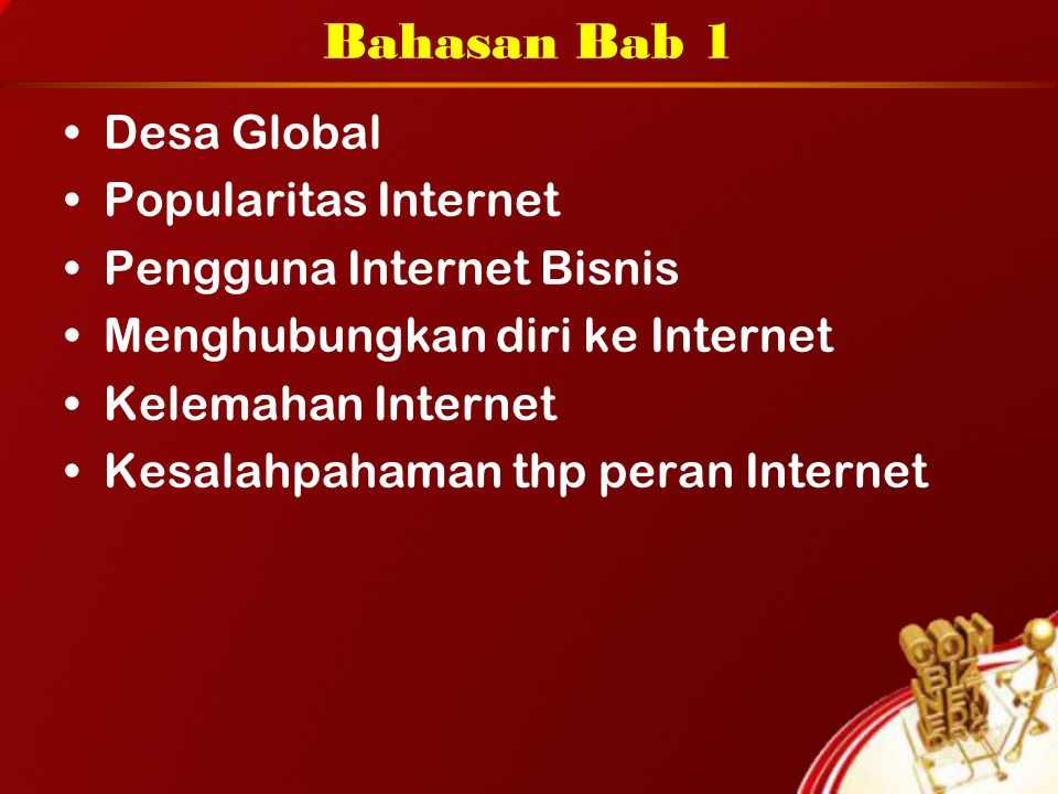 Bahasan Bab 1 Desa Global Popularitas Internet