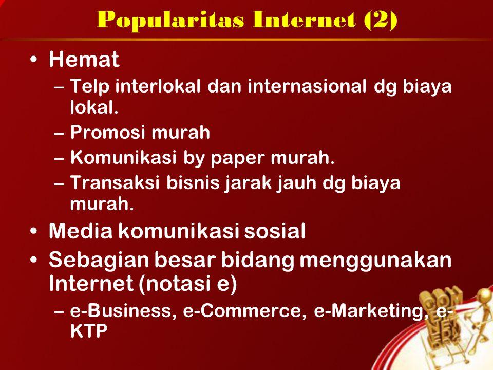 Popularitas Internet (2)
