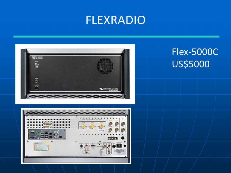 FLEXRADIO Flex-5000C US$5000
