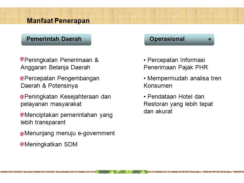 Manfaat Penerapan Pemerintah Daerah Operasional