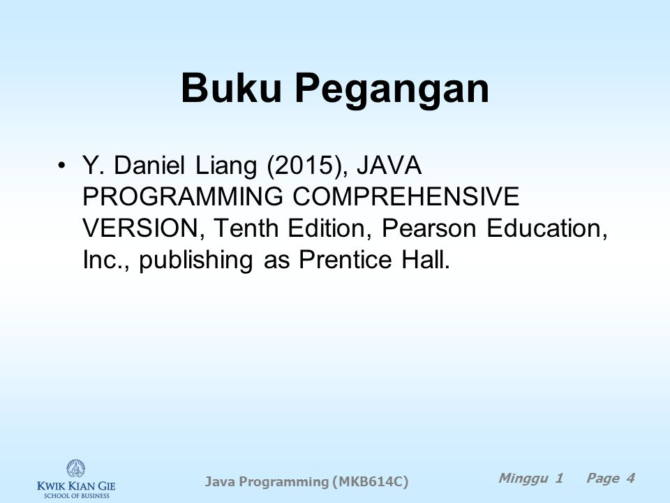 Java Programming (MKB614C)