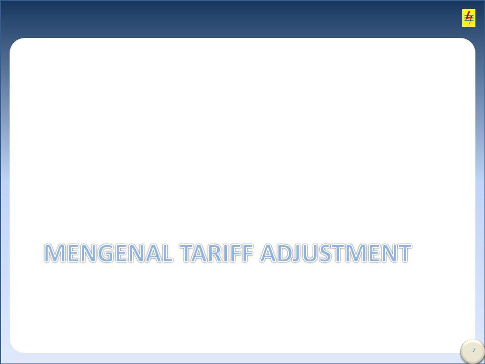 Mengenal tariff Adjustment