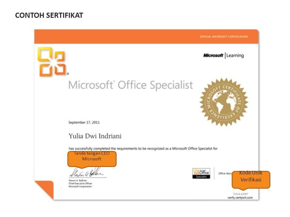 Tanda tangan CEO Microsoft