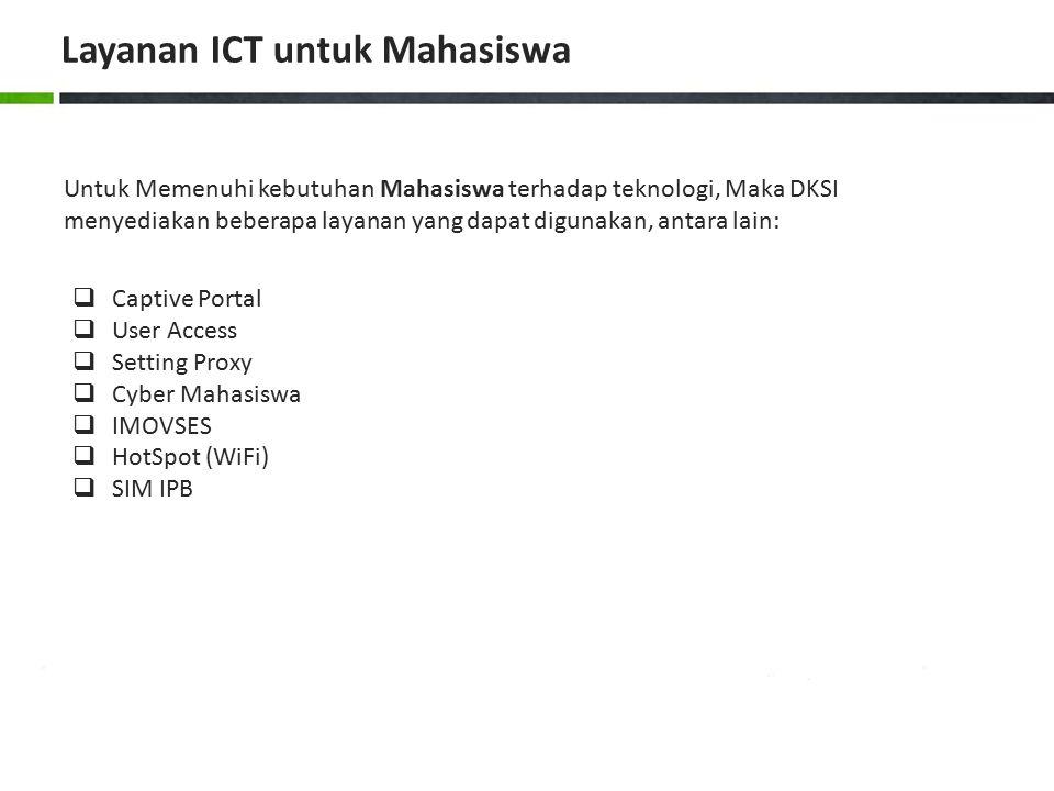 Layanan ICT untuk Mahasiswa