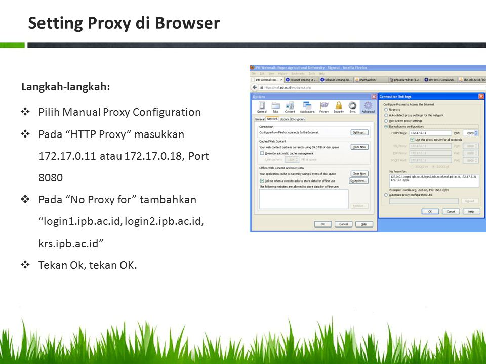 Setting Proxy di Browser