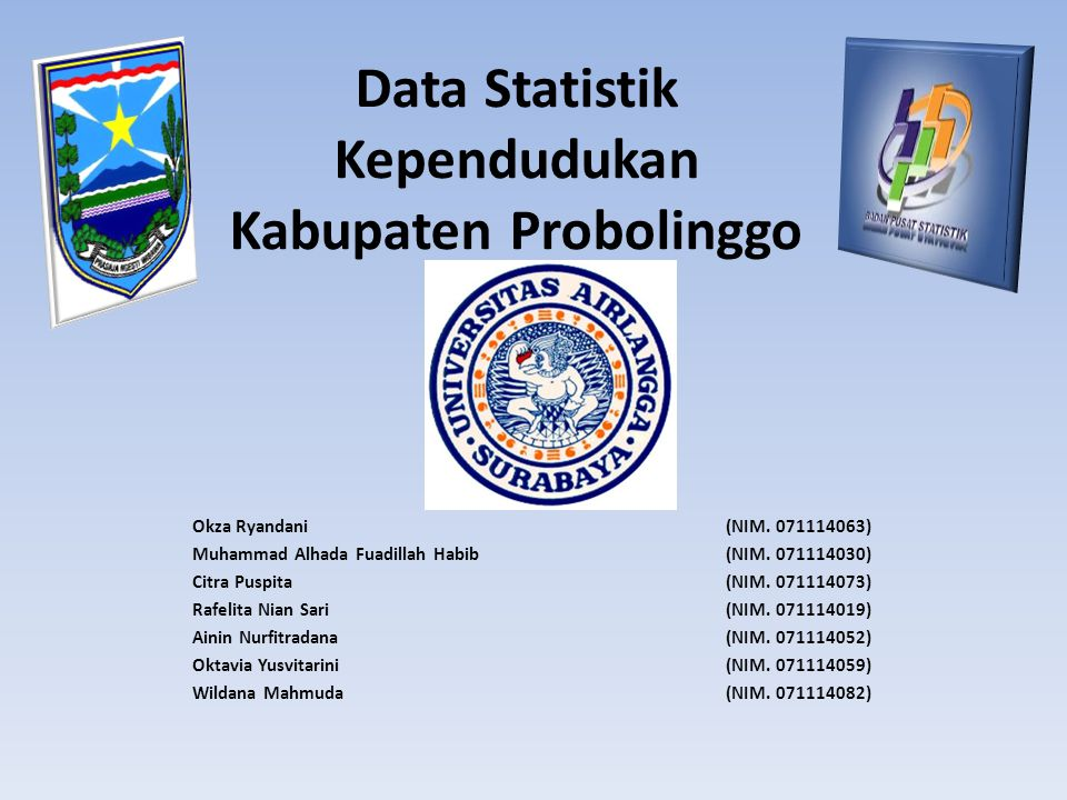Data Statistik Kependudukan Kabupaten Probolinggo