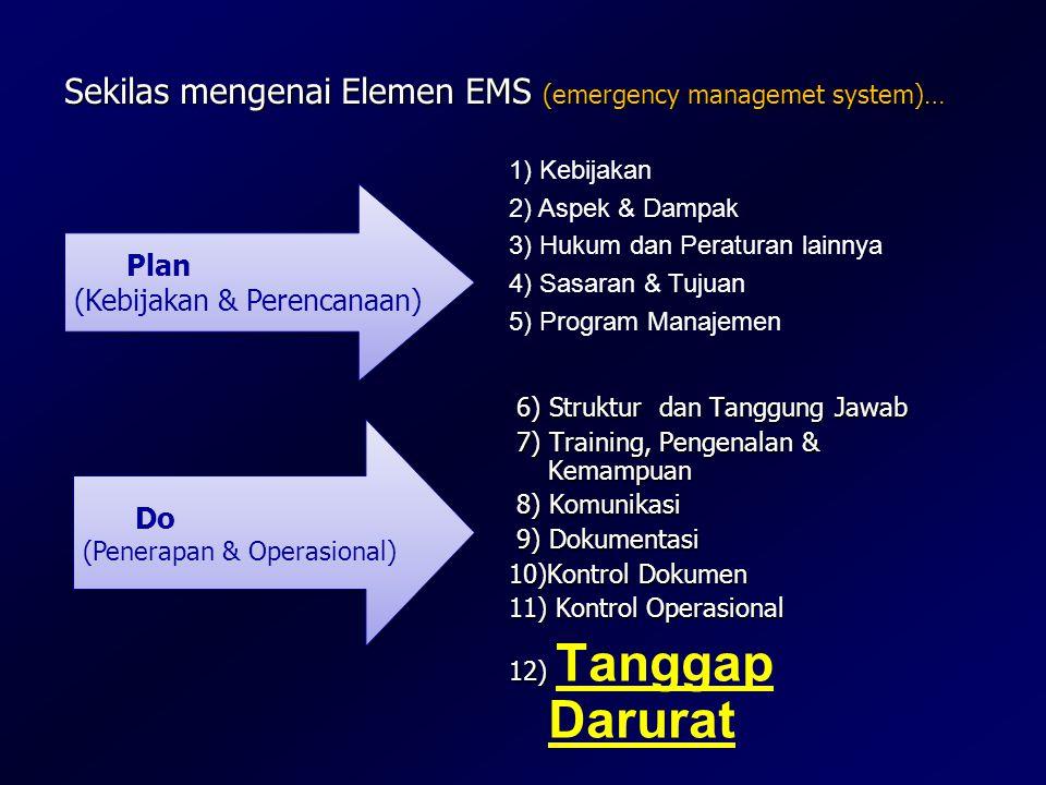 Sekilas mengenai Elemen EMS (emergency managemet system)…