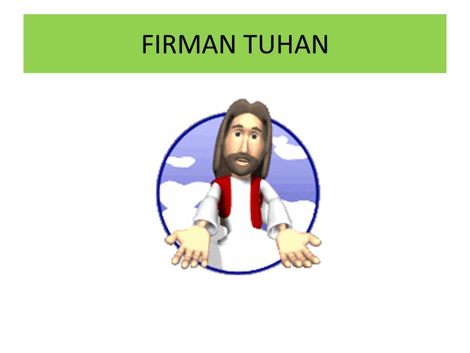 FIRMAN TUHAN