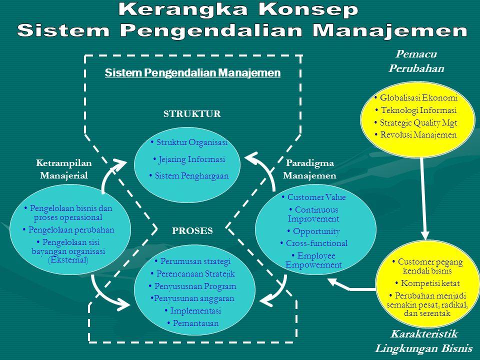 Sistem Pengendalian Manajemen