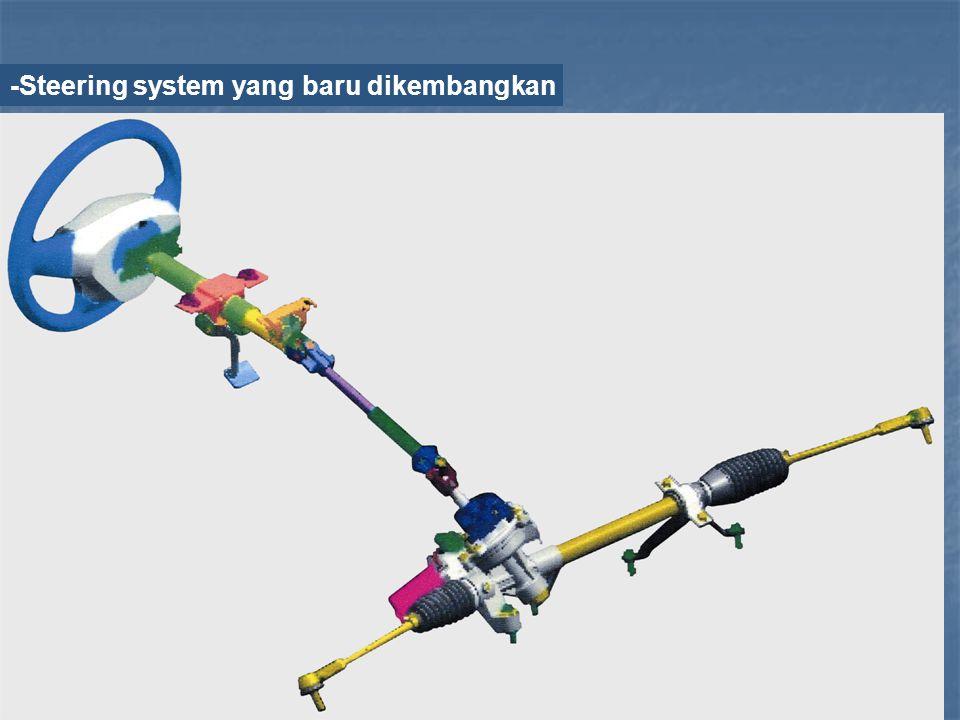 -Steering system yang baru dikembangkan