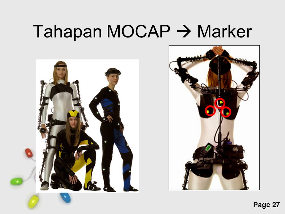 Tahapan MOCAP  Marker