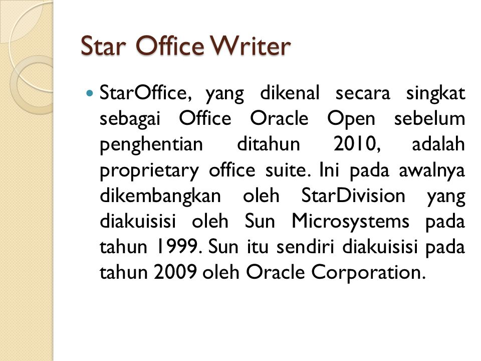 Star Office Writer