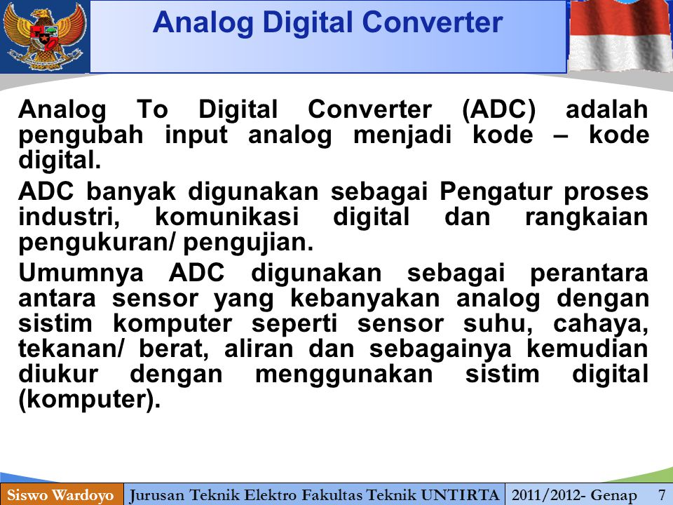 Analog Digital Converter